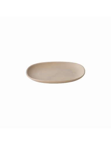 NEST RECTANGLE PLATE PINK BEIGE